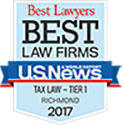 US News Best Tax Lawyer Shield