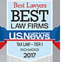 US News Best Tax Lawyer Shield
